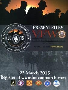 2015 03 22 Bataan Memorial Death March Poster