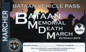 2015 03 22 Bataan Memorial Death March Vehicles Pass