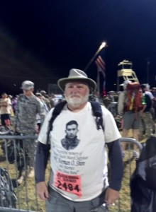 2015 03 22 Bataan Memorial Death March NM 6 03 Starting Point Rick Dodson