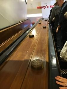 2015 11 26 New York Macys Black Friday Wooden Escalators (4)