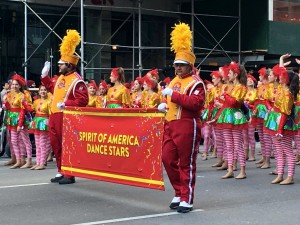 Spirit of America has been in the Parade for mroe than 25 years! 650 Members