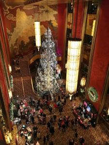 2015 11 26 New York Radio City Music Hall Lobby Chandelier