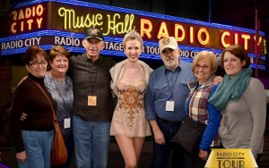 2015 11 26 New York Radio City Music Hall Stage Door Tour with a Rockette