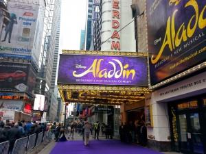 2015 11 27 New York Aladdin New Amsterdam Theatre
