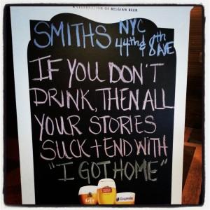 2015 11 27 New York Smith's Bar Restaurant Sign (1)