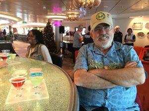2015 11 30 NCL Breakaway E Caribbean Shakers Cocktail Bar Martini Tasting Fred