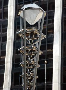 2015 12 11 New York Diamond District Light Post