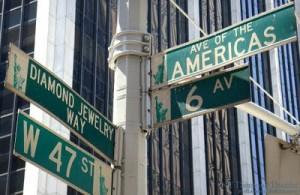 2015 12 11 New York Diamond District Sign