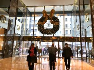 2015 12 11 New York Trump Tower Front Doors