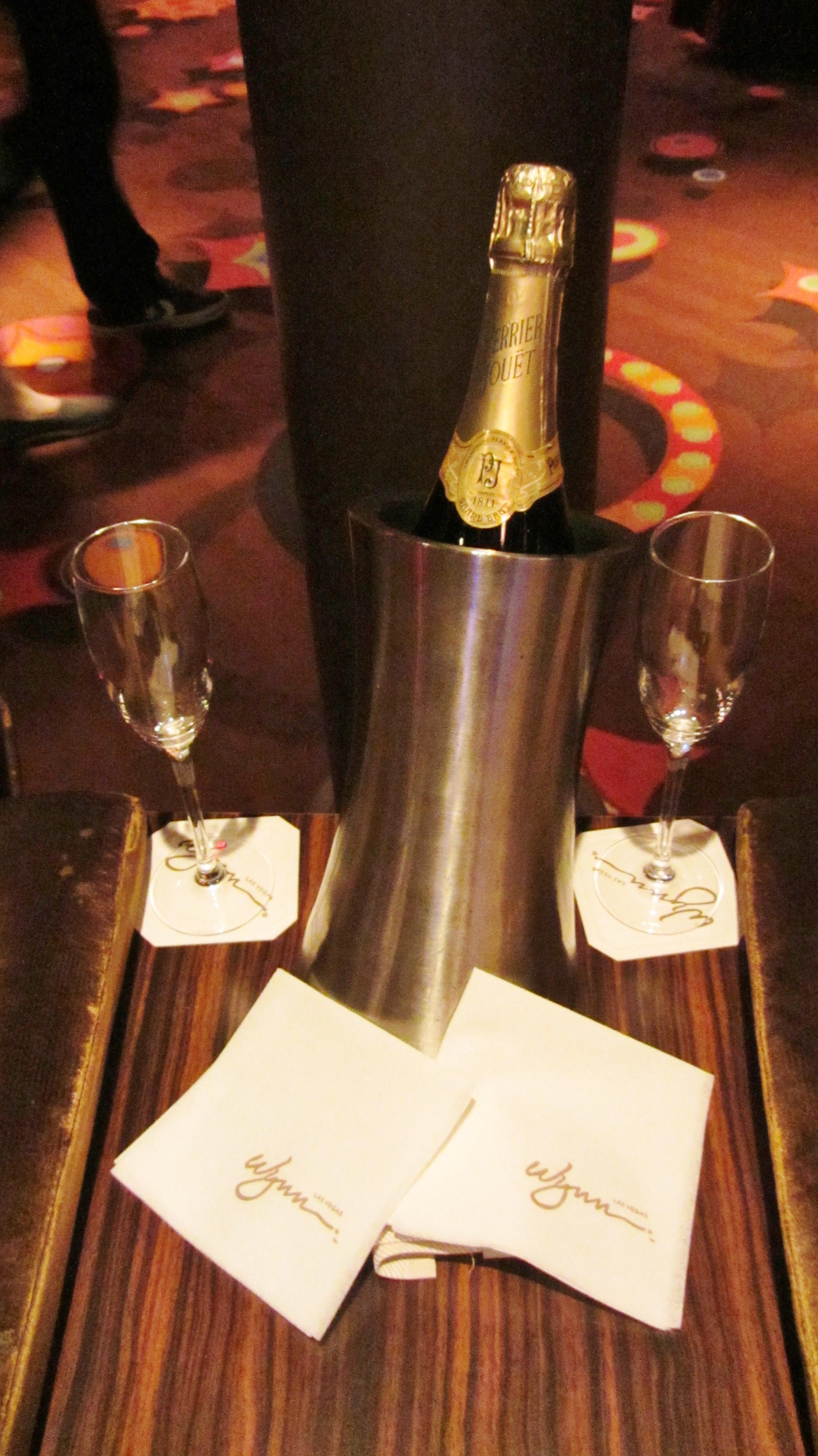 Wynn Le Reve The Dream Bottle of Champagne